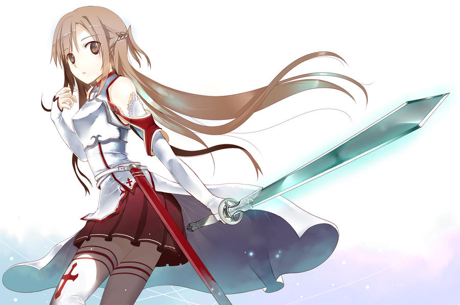 Asuna Sword Art Online by xcountrysidex