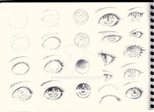 Eyes Sketch Tutorial