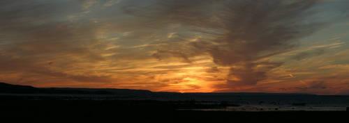 Georgian Bay Sunset by musicandmotion
