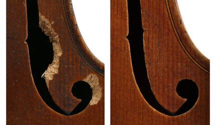restored - detail
