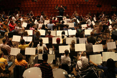 back of the orchestra by musicandmotion