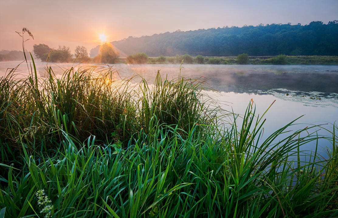 Dawn at South Bug River by third-one