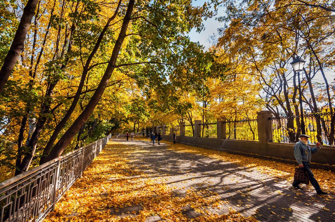 Autumn in Kyiv by third-one