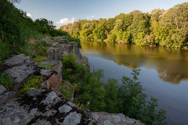 South Bug river Rocky Bank