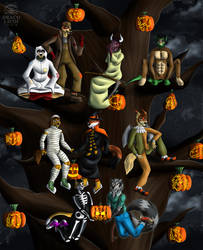 [PERSONAL] The Halloween Tree by DracoLicoi