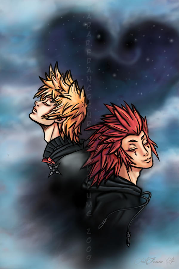 Axel and Roxas: Fade Away by Otakuyume