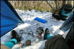 My Snow Campsite