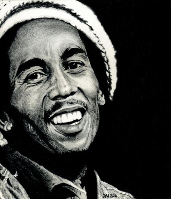 Bob Marley by Dodos24