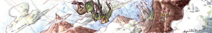 Skyward Sword by Bakke