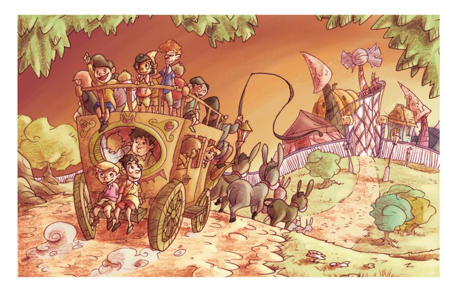 Land of Toys by Bakke