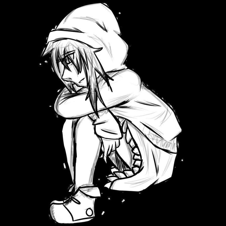 Free anime girl sitting pose by kidaaisaka on deviantart