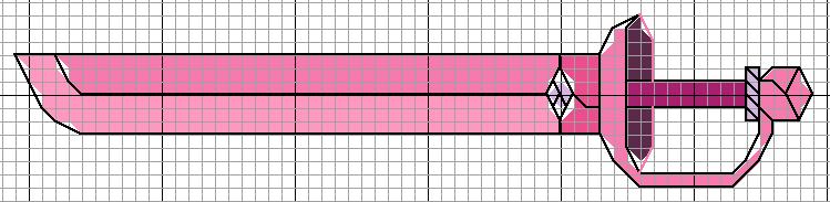 Rose Quartz Sword by lpanne