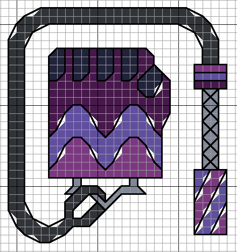 Sugilite's Gem Weapon by lpanne