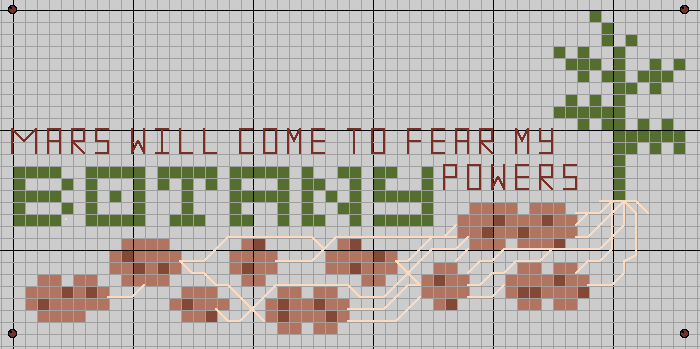 Mars will come to fear my botany powers by lpanne