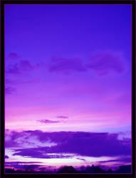 deep blue purple