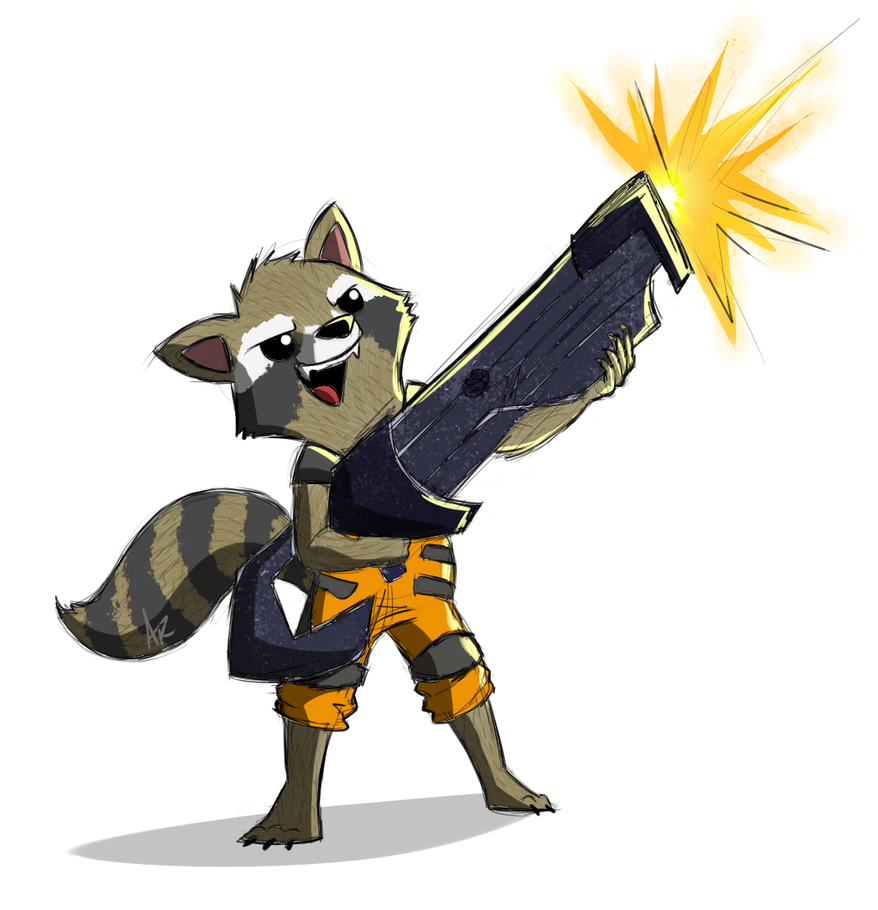Star Lord And Rocket Raccoon By Timothygreenii On Deviantart: Rocket Raccoon By Drey15 On DeviantArt