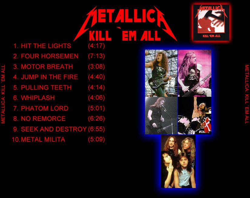 Metallica - Kill 'em All - The Alternative Way Volume 2