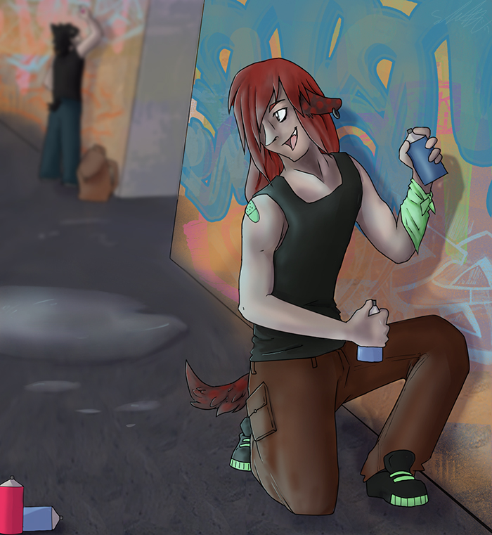 Back Alley Trouble Makin by FoxHolliday