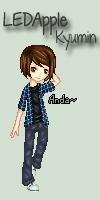 PIXEL: LEDApple - Kyumin by jaenda