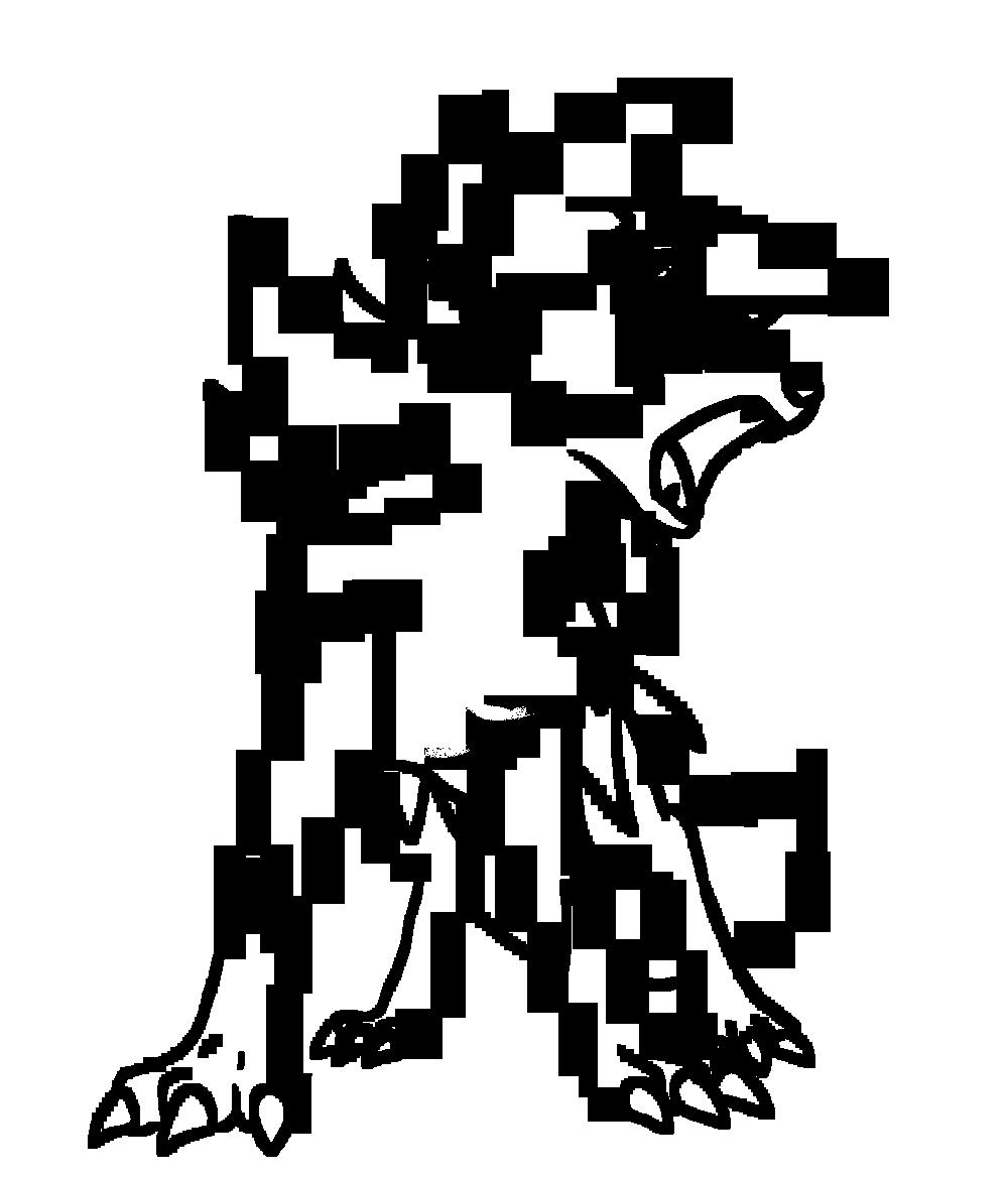 Line Color Form : Lycanroc dusk coloring by bellatrixie white on deviantart