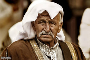 Arab Elder by RoieG