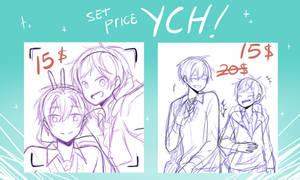 YCH Set Price 2 (Open) by Kuroijen
