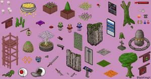 Isometric Objects by BlackKingX