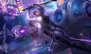 ZEA MARIUS - Scifi splash art