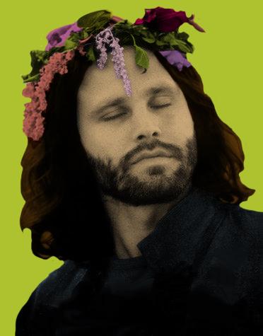 Jim Morrison Pop Art By Agos Tovgin