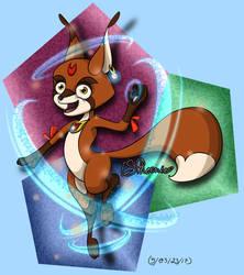 Mizuna the Fox Spirit - Magical Concept