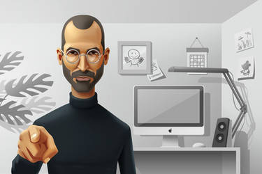 Steve Jobs by Icondesire