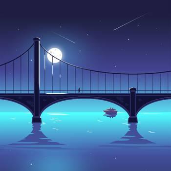 Bridge Illustration by Icondesire