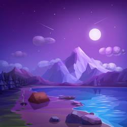 Kites - Night by Icondesire