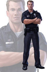 Police Officer by Icondesire