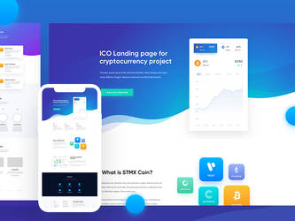 Crypto Currency by Icondesire