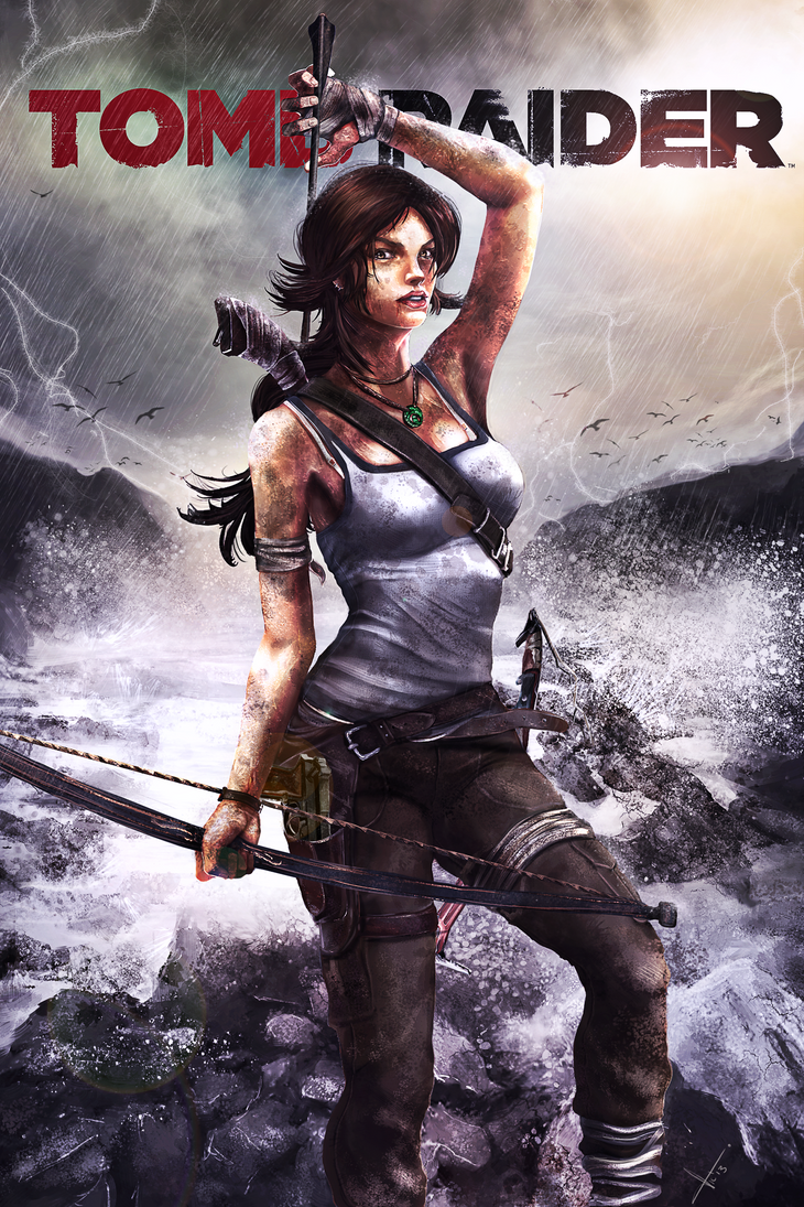 Tomb Raider Reborn Contest by victter-le-fou