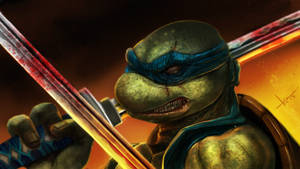 TMNT Leonard tribute. by victter-le-fou