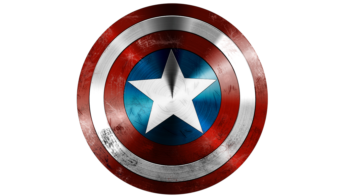 Captain America Shield Drawing: Captain America's Shield By Victter-le-fou On DeviantArt