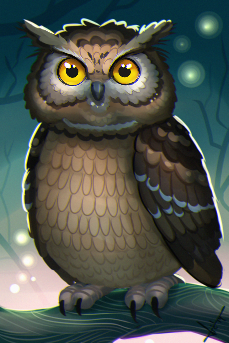 Owl October by victter-le-fou