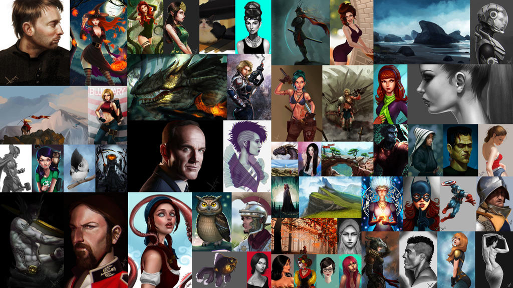 2014 in drawings by victter-le-fou