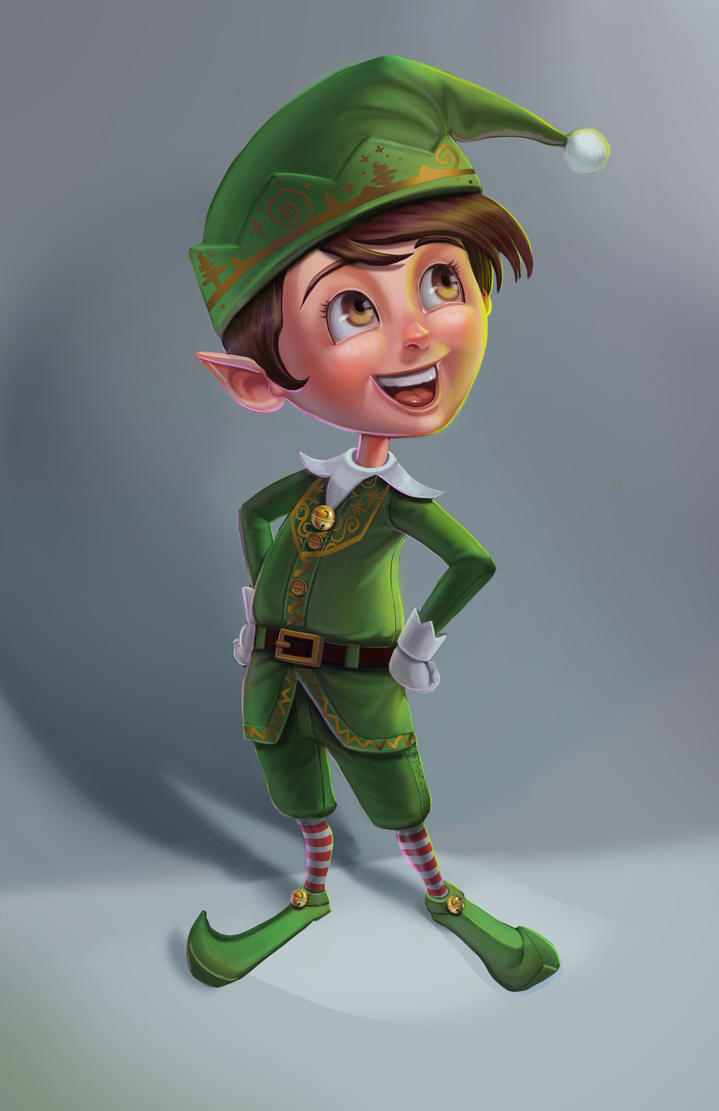 Christmas Elf by victter-le-fou