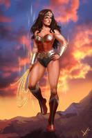 Wonder Woman Fan art by victter-le-fou