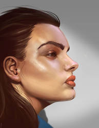 Head Study by victter-le-fou