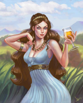 Illustration for another beer label