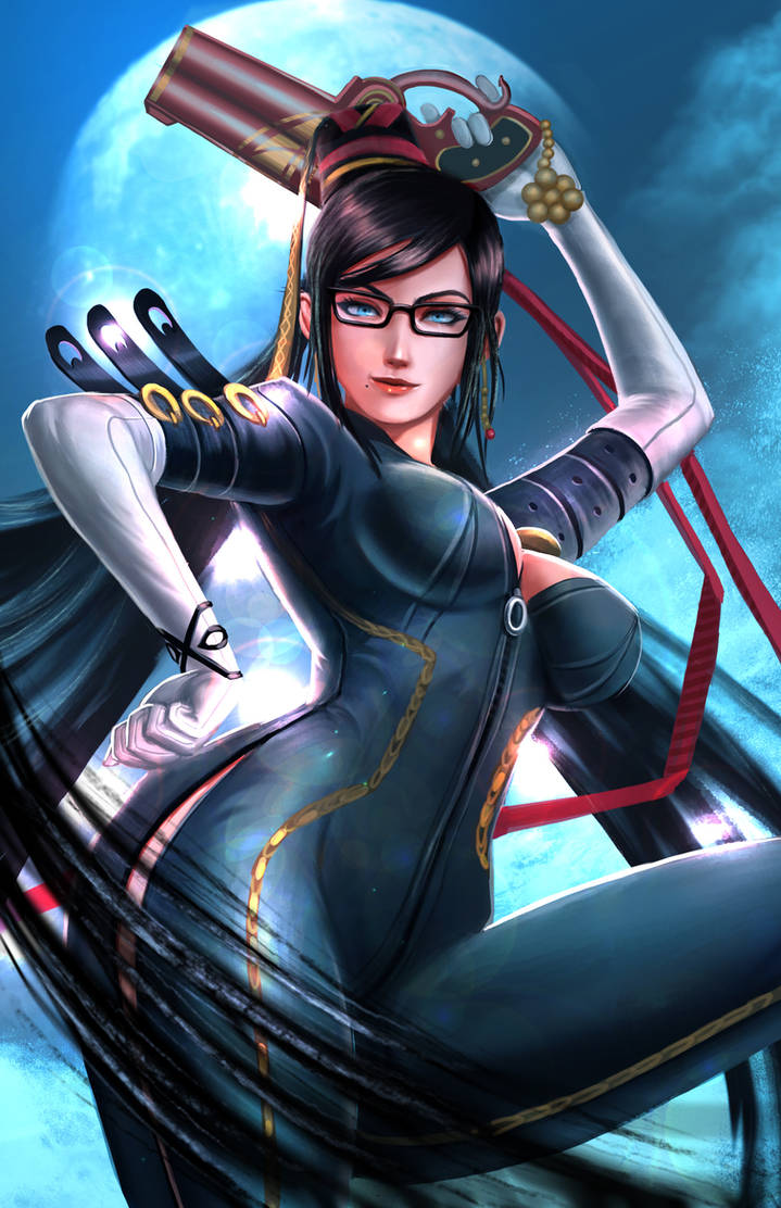 Bayonetta by victter-le-fou