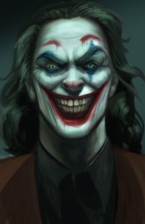 Joker fanart by victter-le-fou