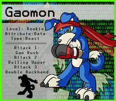Digimon- Gaomon by Yark-Wark
