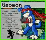 Digimon- Gaomon