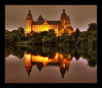 Castle Johannisburg at night 2