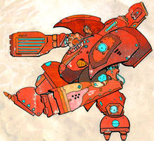 Beep Boop Mecha Robots Whirr Whirr by anarchisticmoosebear